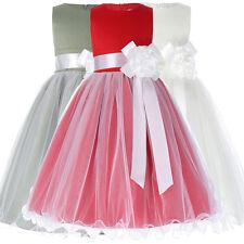Grace Karin Flower Girls Dresses Wedding Bridesmaid Birthday Princess 2-12 Years