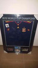 Spain World Cup 2010 Signed Framed Football Soccer Jersey Iniesta Casillas Ramos