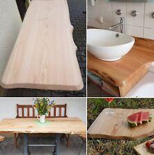 Tischplatte Massivholzplatte Eichenbrett Holzbrett Platte Natur Holz 160 x 55 cm