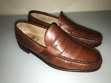 Allen Edmonds Hanover Men's Slip On Rich medium brown Loafer Sz 9D