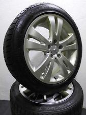 """4 los neumáticos de invierno 225/45 r17 incl. original Mercedes clase C w204 17"""" llantas de aluminio"""