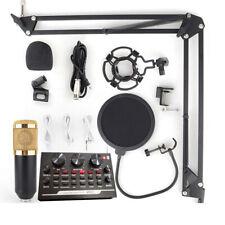 Condenser Microphone Live Broadcast Equipment Kit K Song USB Mic Band Bracket