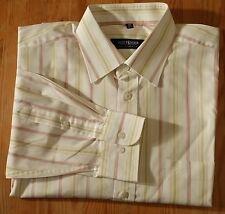 broderie de soie chemise SPLENDIDE manches longues kW 42 L multicolore rayé BW