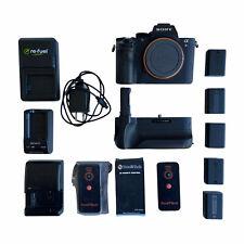 Sony Alpha a7R II 42.4MP Digital Camera - Black (Body Only) Bundle ILCE-7RM2
