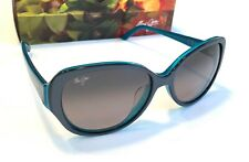 37bbaf760 Maui Jim Swept Away Aqua Blue Polarized Grey Women's Sunglass Gs733-06b