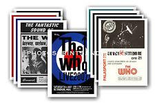The Who - 10 promocional pósters - coleccionable juego de postales # 1
