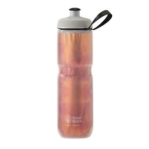 Polar Bottles Sport Insulated Fly Dye Water Bottle 24oz Blood Orange
