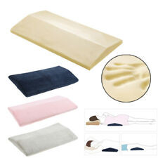 Wedge Bed Pillow Side Sleeping Cushion Pad for Lumbar Support Back Leg Knee