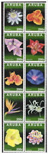 Aruba 2013 Tropische bloemen tropical flowers MNH
