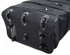 Sturdy 8 Wheeled Expandable Rolling Duffel Bag Wheeled Spinner Luggage 3 Folds