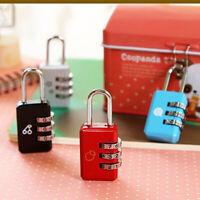 Digit Dial Combination Travel Suitcase Luggage Metal Code Password Lock Padlock