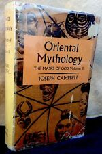 Oriental Mythology Masks Of God Joseph Campbell Secker & Warburg 1962 Edit. DJ