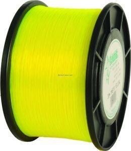 NEW! Ande MY00100050 Monster Yellow Mono Line 1lb Spool 50lb 1000yd