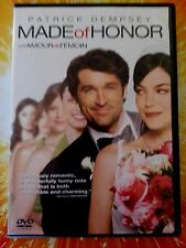Made of Honor (DVD, 2008) Patrick Dempsey Wedding flowers movie sony pictures !!