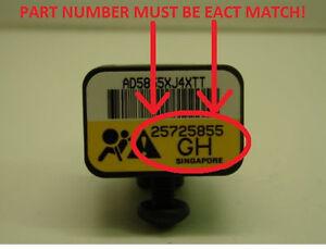 DELPHI 25725855 GM OEM FRONT AIRBAG SENSOR 00-05 LESABRE BONNEVILLE AURORA *NIB*