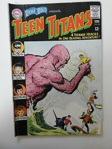 Brave and the Bold #60 GD/VG! 2nd App of Teen Titans! See Condition description