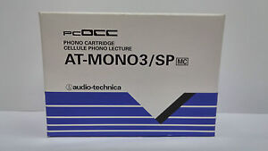 Audio-Technica AT-Mono3/SP Mono Moving Coil Cartridge for 78 RPM, made in Japan