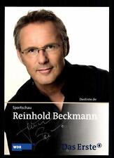 Reinhold Beckmann Sportschau Autogrammkarte Original Signiert # BC 45713