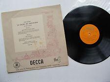 """Stravinsky  Le Sacre du Printemps 12"""" Lp OSR Ansermet Decca LXT 2563 Mono UK 1st"""