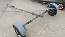 Road trailer for sailing dinghy