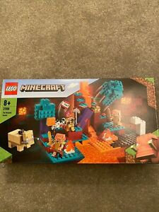 LEGO 21168 Minecraft The Warped Forest - Brand New Unopened FREE P&P