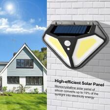 102LED Solar Light PIR Induction Wall Light Outdoor Garden Light