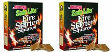Rutland Safe Lite Fire Starter Squares 144-Square 2 Pack Other Fireplaces Stoves