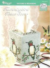 Hummingbird Tissue Cover  ~ plastic canvas patterns ~ NEW