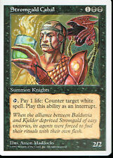 MAGIC THE GATHERING 5TH EDITION BLACK STROMGALD CABAL