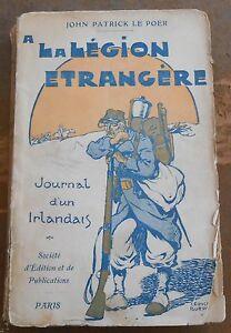 A la Légion Etrangère – Journal d'un Irlandais