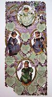 "1906 Victorian Calendar by ""Raphael Tuck & Sons"" w/ 4 Adorable Little Girls  *"
