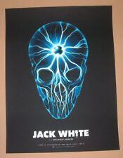 Jack White Justin Erickson Pittsburgh Poster Print Signed Numbered Art 2014