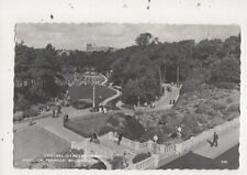 Central Gardens From Pavilion Terrace Bournemouth 1961 Postcard 925a