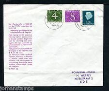 FDC Philato W0) geïllustreerde envelop, nvph 774-776, fluoriserend, met adres :