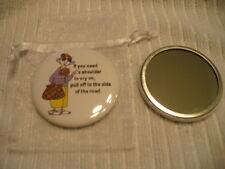 Maxine Pocket Purse Mirror