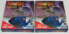 Buster Fight Game Gear Japan JPN Masters Of Combat BRAND NEW Quality Shipping