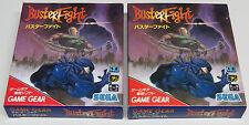 Buster lucha Game Gear Japón JPN Masters De Combate Nuevo De Calidad De Envío
