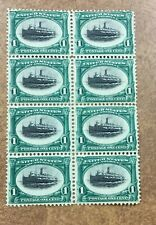 US # 294  MINT OG 1901 PAN-AMERICAN SERIES VF NH BLOCK OF 8