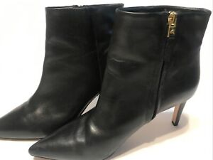 SAM EDELMAN Black High Heel SEXY Boots Ankle Booties SZ 9