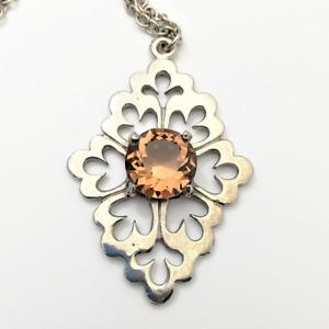 Celtic Jacobian Style Pendant Scottish Inspired Jewellery