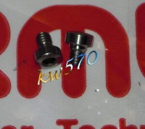 Formula - 2 titanium screws to fix lever TheOne/T1/R1/R1R/RO Oval FD-V160-10 NEW