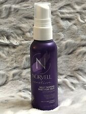 Norvell Venetian Self Tanning Mist For Face With Bronzer 2 oz New