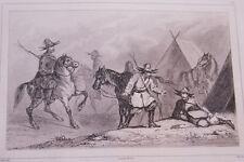 RUSSIE KIRGUISES GRAVURE SUR ACIER 1838 РОССИЯ PRINT