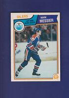 Mark Messier 1983-84 O-PEE-CHEE OPC Hockey #39 (NM) Edmonton Oilers