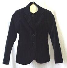 BITTEN by Sarah Jessica Parker Black Velvet Pinstripe Blazer  Women's Size XS