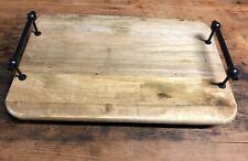 Clayre /& Eef Briefständer Briefhalter Serviettenhalter grau Holz Herz Landhaus