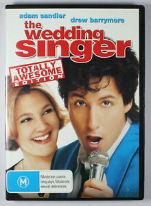 The Wedding Singer DVD Totally Awesome Edition FREE POST