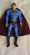 """2006 Mattel Superman Returns 5.5"""" Dc Comics Figura De Acción Rojo Paño Cape 1"""