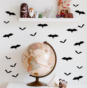 Halloween Bat Stickers Vinyl Window Sticker Kids Party Decoration Wall Decals