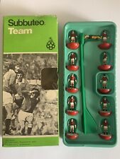 Boxed Subbuteo C100 Zombie Team No 100 Manchester United Hand Painted Version